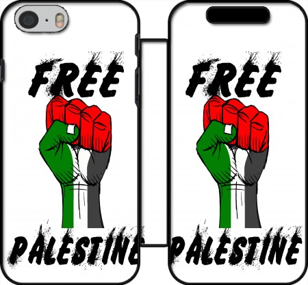 Book Cover Hoesje Free Palestine voor Iphone 6 4.7