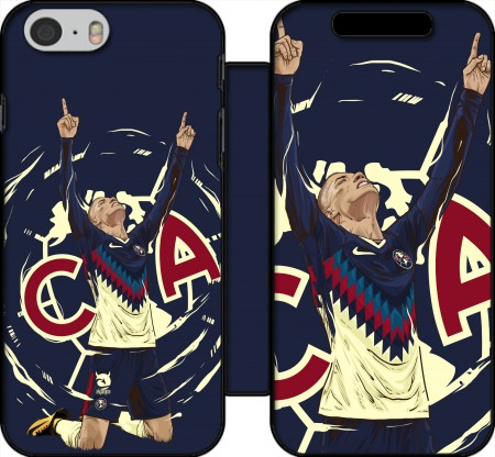 Book Cover Hoesje Matheus Uribe Aguilas America voor Iphone 6 4.7