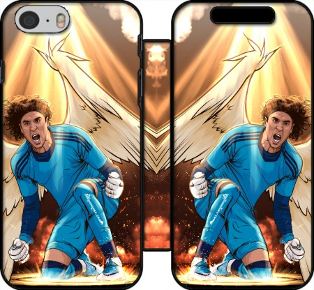 Book Cover Hoesje Ochoa Angel Goalkeeper America voor Iphone 6 4.7